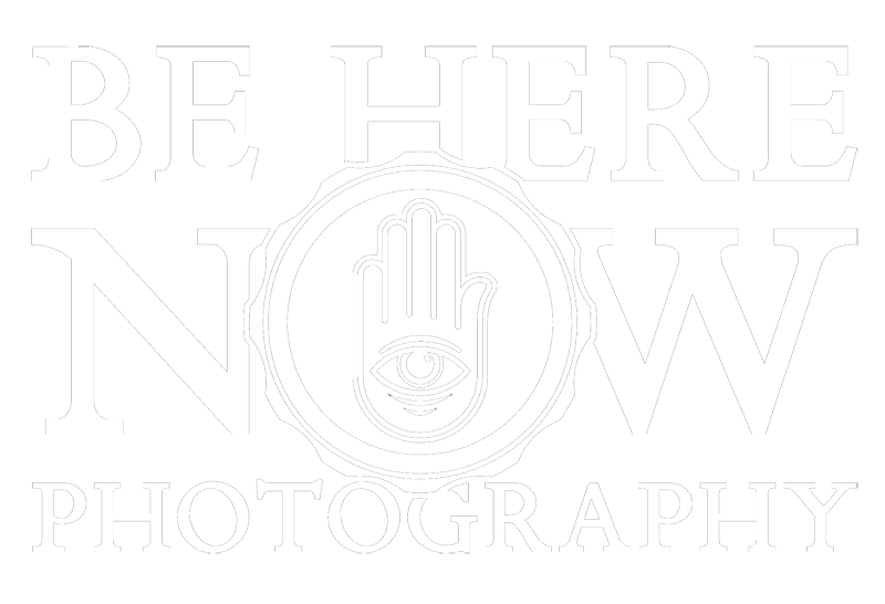 Be Here Now Photography Logo